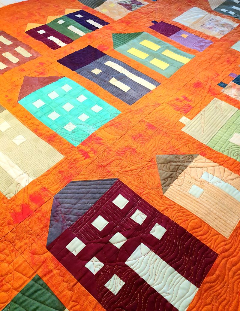 Was machen Bartagame auf einem Quilt?