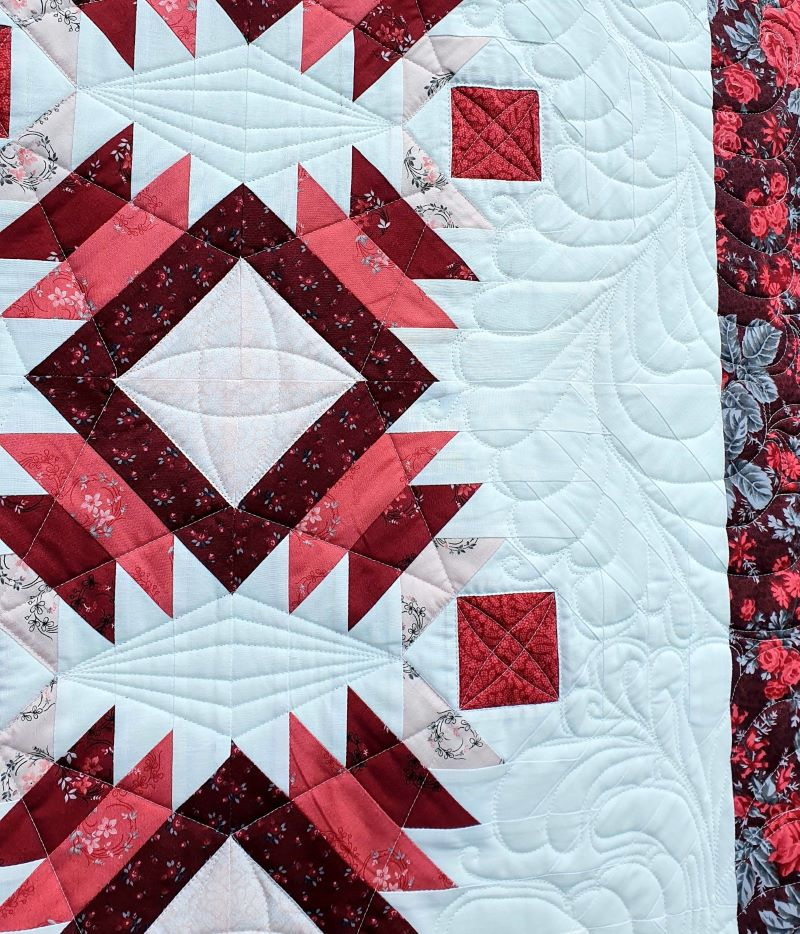 Bild 35<!-- wp:paragraph --> <p> Featherquilting</p> <!-- /wp:paragraph -->
